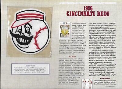 PüNktlich 1956 Cincinnati Reds Willabee & Ward U.s Cooperstown Sammlung Baseball & Softball Sport