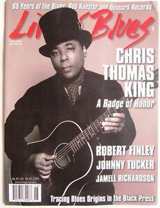 LIVING-BLUES-Magazine-255-2018-CHRIS-THOMAS-KING-Jamell-Richardson-DELMARK