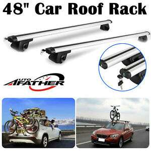 Car Roof Rack Rail Bars Box Universal For Vauxhall Zafira