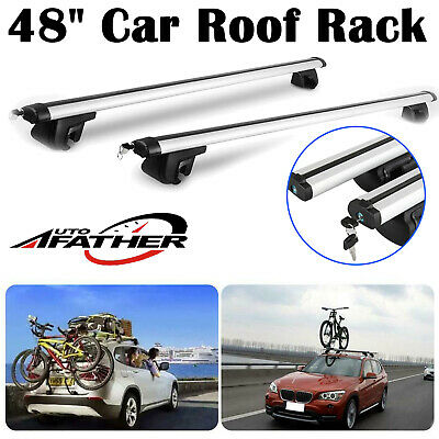Car Roof Rack Rail Bars Box Universal For Vauxhall Zafira