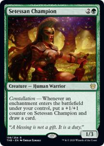 Setessan-Champion-x4-Magic-the-Gathering-4x-Theros-Beyond-Death-mtg-card-lot
