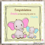 Personalised Card Congratulations To Big Brother Big Sister New Sibling New Baby