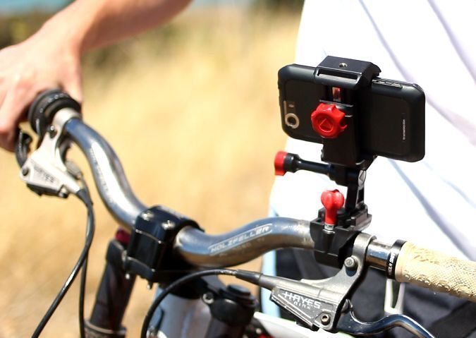 Android Bike Mount Record Awesome Videos or Use Your Phones GPS Navigation