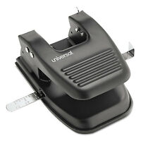 Universal 30-sheet Two-hole Punch 9/32 Holes Black 74222 on sale