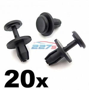 20x-Citroen-8mm-Plastic-Rivets-Wheel-Arch-Inner-Liner-Clips-Splashguard-Clips
