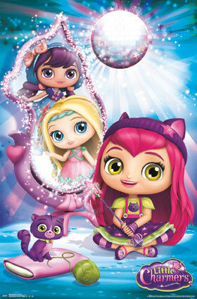 "Little Charmers Party Chat New Wall Art 22/""x34/"" rp14450 Poster"