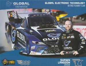 2018 Shawn Langdon Global Electronic Toyota Camry Funny Car Nhra
