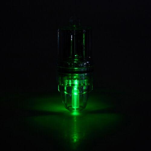 LED Fishing Light /& CLIP Deep Drop Underwater Lamp Attracting Night Lure Light H