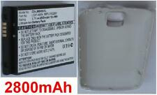 Coque Blanche + Batterie 2800mAh type LGIP-400N SBPL0102301 Pour LG MS690