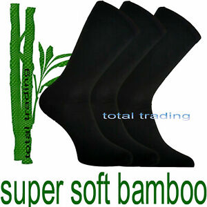 3-pairs-Mens-Bamboo-Socks-antibacterial-cooler-fresher-feet-summer-6-11