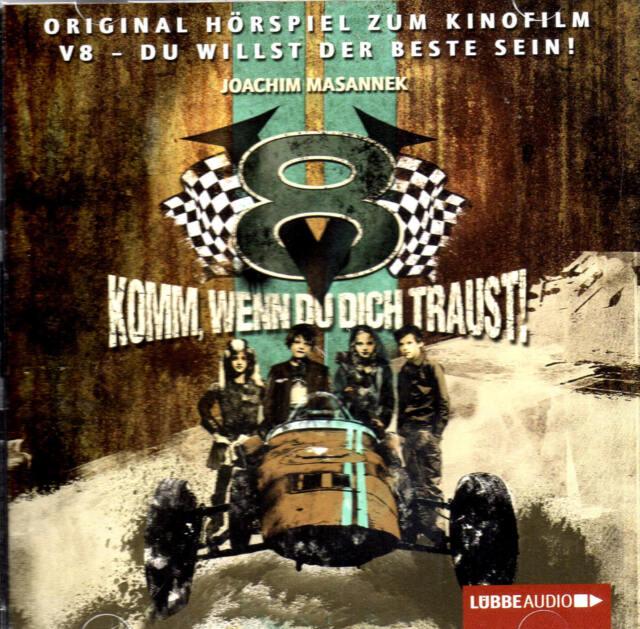 V8 - Komm, wenn du dich traust! - Hörspiel zum Film - CD / B-WARE / Neu + OVP