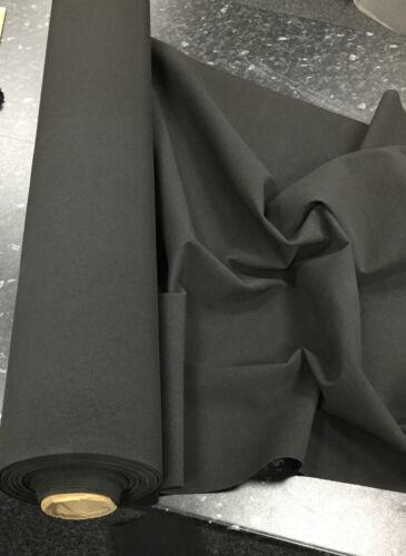NEOPRENE Fabric BLACK EPDM Sponge Foam Material Buskets Cars Various Thickness