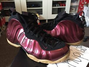 caf0cce5a9f Nike Air Foamposite One Night Maroon Gum Light Brown Black 314996 ...
