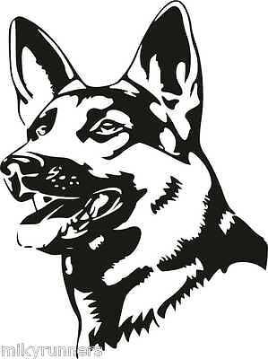 Cane Dog Stikers-Adesivo Prespaziato decorazioni stampe auto moto casa