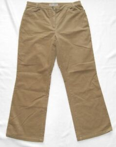 Brax Ladies Cord Trousers Size 40-42 L28 Model Manu Condition Very Good