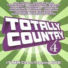 Totally Country, Vol. 4 CD ALAN JACKSON brad paisley LONESTAR gretchen wilson