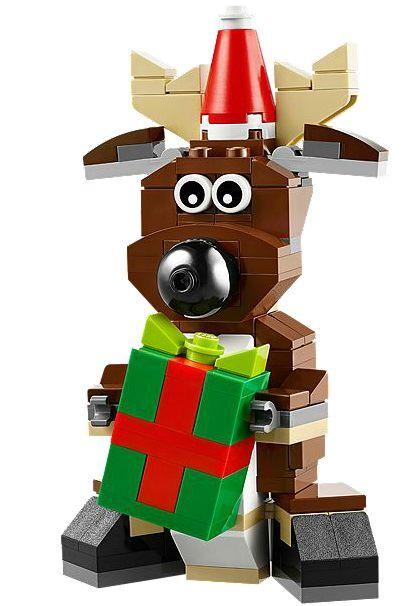 LEGO® LEGO® LEGO® 40092 Rentier NEU OVP_ Reindeer NEW MISB NRFB 63213e