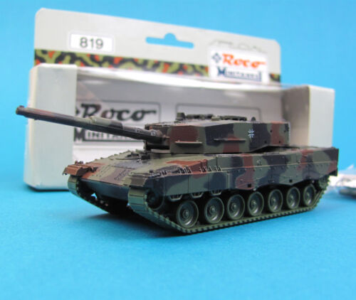 Roco Minitanks H0 819 KAMPF-PANZER LEOPARD 2 getarnt Bundeswehr special HO 1:87