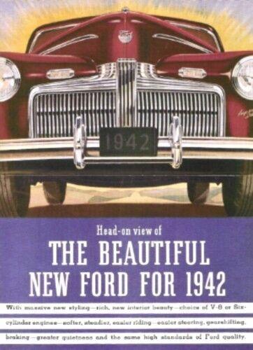FORD 1942 Sales Brochure 42