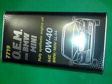 4L MANNOL 0W-40 Motoröl 7719 O.E.M.OEM API SN/CF ACEA C3 BMW LL-04 VW 505.00