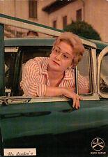 """CARTOLINA CON FOTO DI """" FLO SANDON'S """" FESTIVAL DI SANREMO 1960 DURIUM C5-55"""