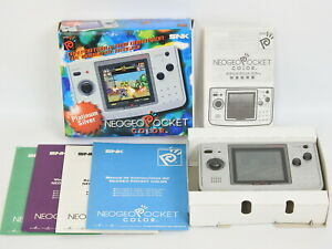NeoGeo-Pocket-Color-Console-US-Ver-Platinum-Silver-Boxed-Neo-Geo-SNK-Japan-1813