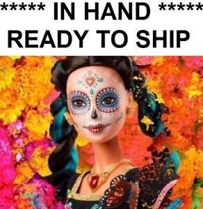 Barbie-Dia-De-Los-Muertos-Day-of-The-Dead-Mexican-Doll-CONFIRMED-Trusted-seller