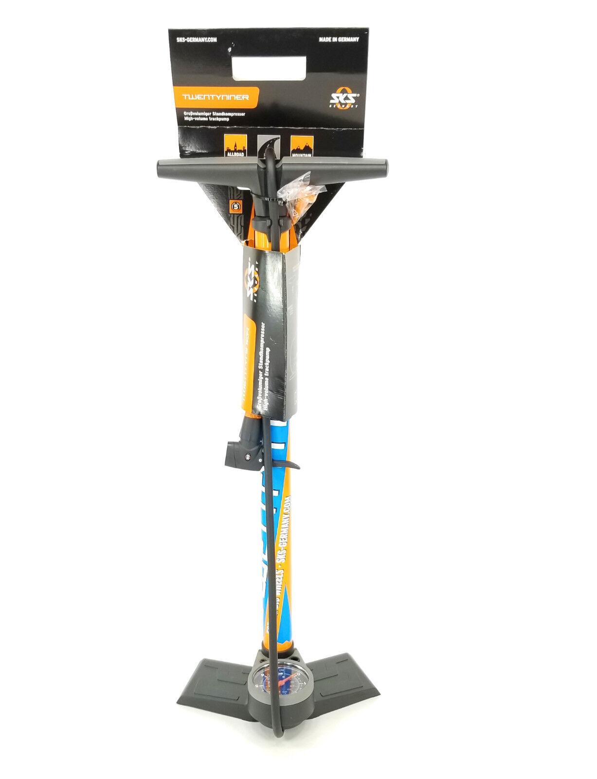 SKS 11378 Bicycle Workshop 29er Floor Pump Twentyniner Pump