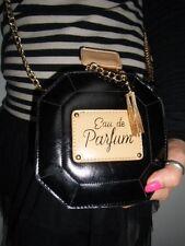 Sac à main original bouteille flacon eau de parfum noir chaine doree féminin