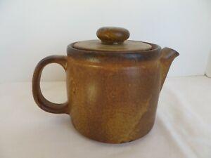 McCoy-Tea-Pot-Stone-Ware-Brown-Coffee-Made-USA-Pottery-Vintage