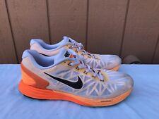 EUC Nike Lunarglide 6 654433 108 Sneakers Men's Size US 12 Running Shoes A2