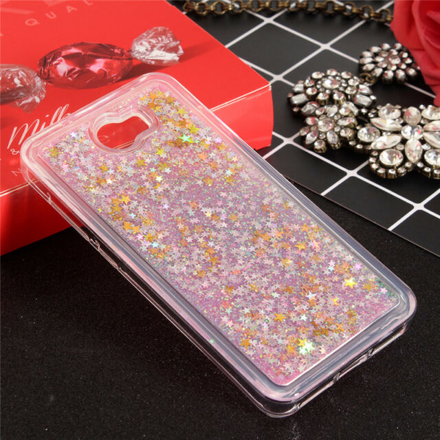 Dynamic Liquid Glitter Quicksand Star Case Clear phone Back Cover For Huawei P10