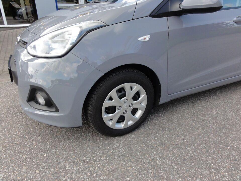 Hyundai i10 1,0 Comfort Air Benzin modelår 2014 km 98000 Grå