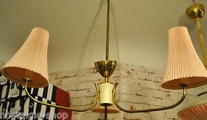 des-annees-1950-60er-PLAFONNIER-LAMPE-LAMPE-Laiton-Lampe-Spoutnik-annees-50-60s