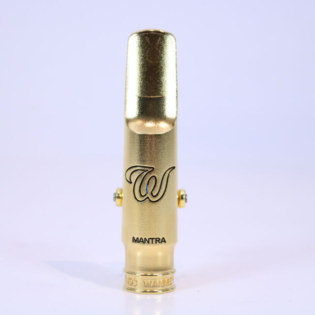 Theo Wanne MANTRA Tenor Saxophone Gold 6* Mouthpiece DEMO MODEL
