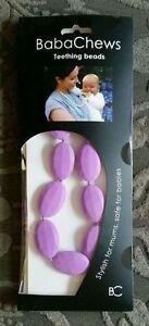 Babachews Dentition Perles Collier Pour Bébé Monica Lilas Entièrement Neuf Dans Sa Boîte-afficher Le Titre D'origine Fcxbvemq-10131258-721672682