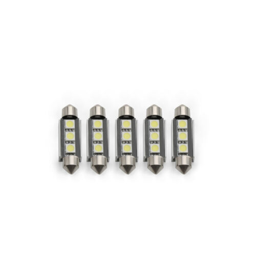 5X LED Soffitte Canbus 31mm 36mm 39mm 41mm 5050 SMD weiß Innenraum Soffite C.E.