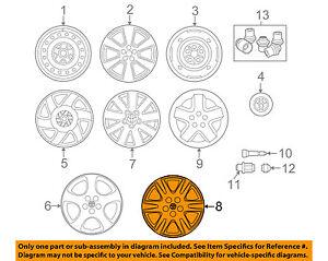 image is loading toyota-oem-05-08-corolla-wheels-wheel-cover-