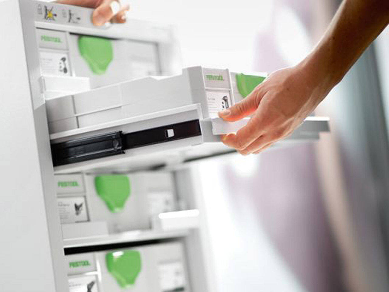 Festool 491922 SYS-PORT 1000/2 Storage System System System Systainer-Port - 5 Drawers d7f71d