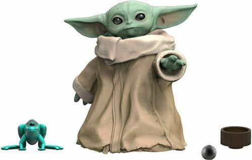 Case Fresh! Star Wars Black Series Mandalorian The Child Baby Yoda In Hand New
