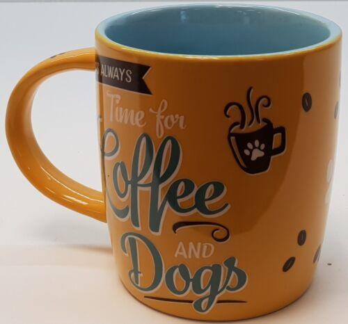 Nostalgic Art Tasse Coffee and Dogs Kaffeetasse Teetasse für Hundeliebhaber
