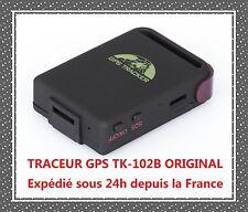 Traceur GPS TK-102B ORIGINAL ESPION GSM ANTIVOL VEHICULE AUTO SOS TRACKER ALARM