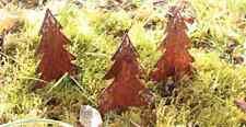 EDELROST Tannenbaum klein Weihnachten Christbaum Gartendeko Rost Dekoration TOP