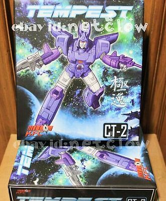 Transformers KFC toys CT-02 Tempest Cyclonus in Stock MISB