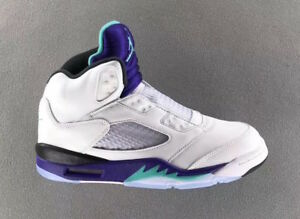 ef18cb8ac259 Nike Air Jordan 5 V Retro NRG Fresh Prince 8-14 White Grape Aqua ...