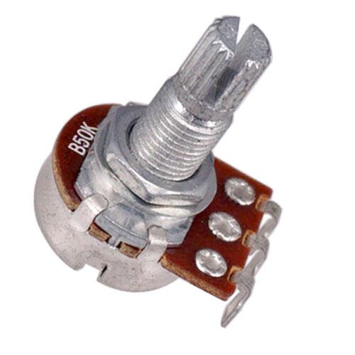 Gitarrenpotentiometer Audio POTS A50K /& B50K OHM Ersatz für E Gitarre 4er
