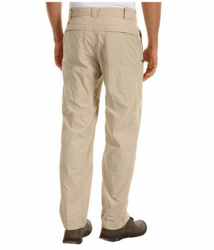 New 38x34 Beige Columbia Mens Insect Blocker Mosquito Cargo Pant tags! NWT