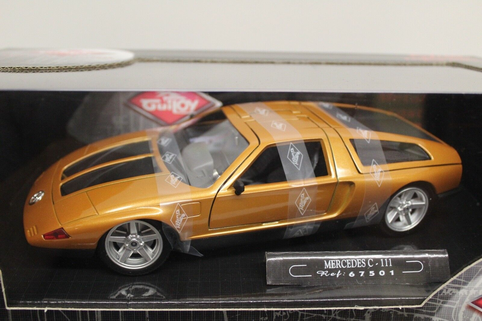 MERCEDES C 111 1969 Oro Arancione 1:18 NUOVO LIMITED EDITION Factory NEW Guiloy