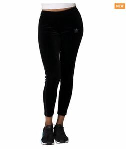 1350016ebfd ADIDAS Women's Originals Velvet Vibes Leggings Black - Size 12 to 18 ...