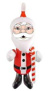 image is loading inflatable santa 67cm christmas decoration blow up festive